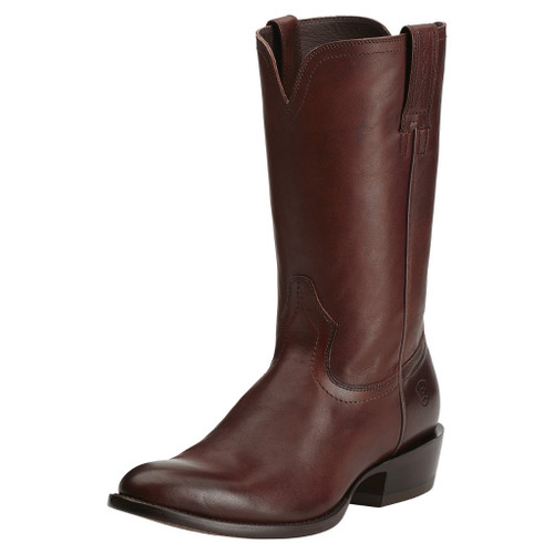 Men's Ariat Boot, Houston, Sable Brown, Rounded Toe