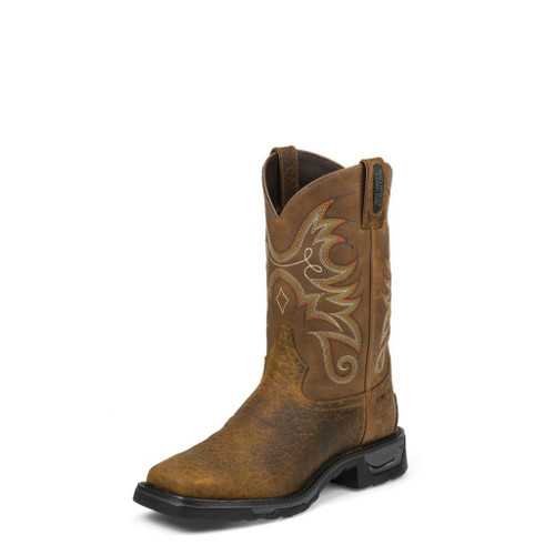 Men's Tony Lama Boot, Sierra Tan, Composition Toe