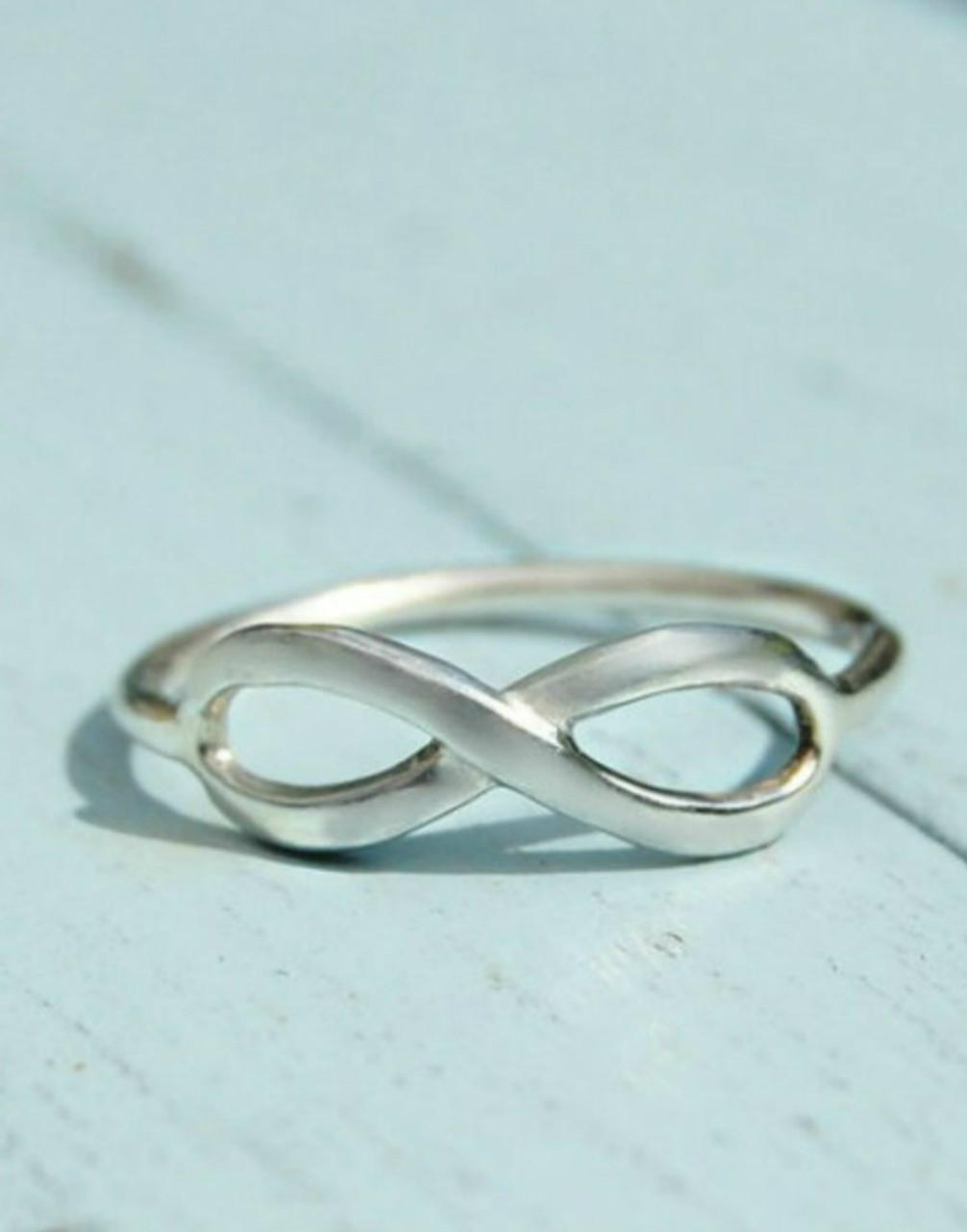 Infinity Ring Silverhaven Jewellery