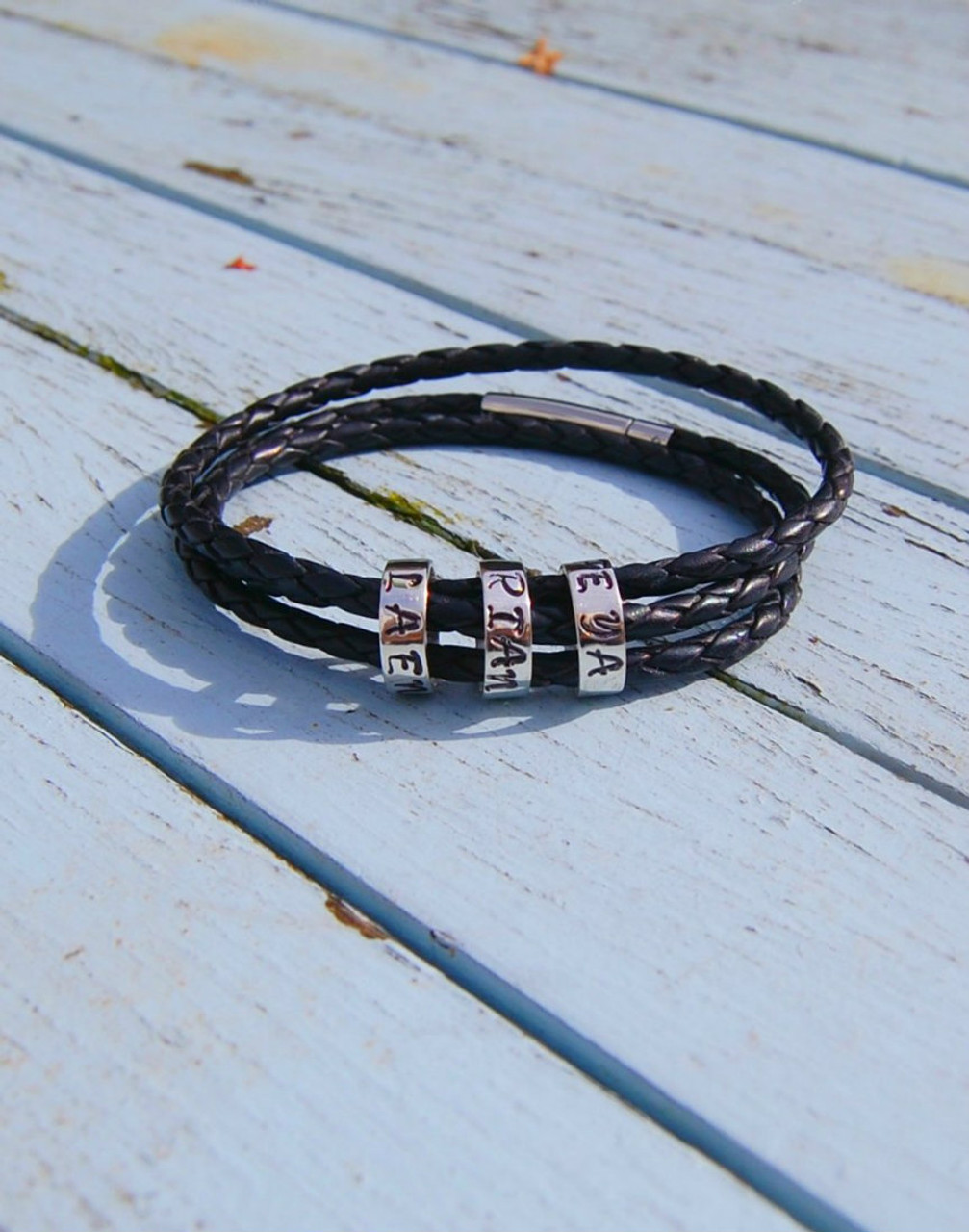 triple lyst wrap leather livia jewelry blackshiny brass black normal product gallery bracelet burch tory