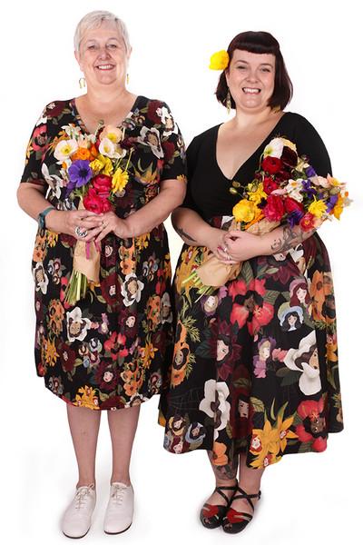 Every Body Valentina Skirt Flower Ladies