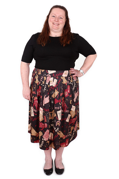 Every Body Patsy Skirt Long Fortune Telling