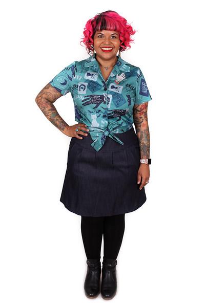 Tiffany Tie Shirt Fortune Telling