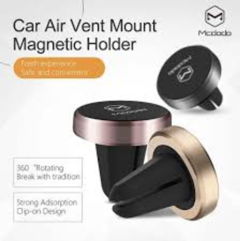 McDODO Magnetic Phone Car Mount for Smartphones and Mini Tablets