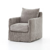 Bank Swivel Chair - Stonewash