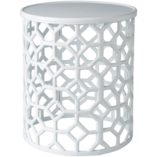 Hale Accent Table - White