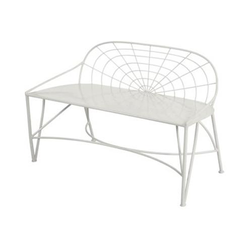 May Garden Bench - White