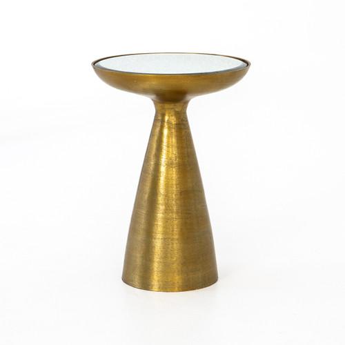 Brass Pedestal Table