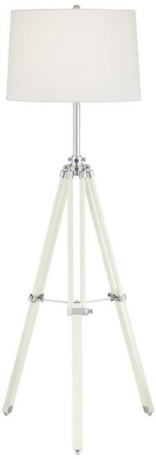 White Tripod Lamp