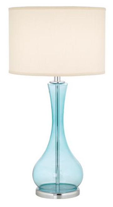 Blue Martini Lamp