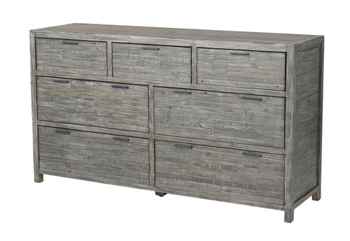 Grey Wash Tuscan Large Dresser