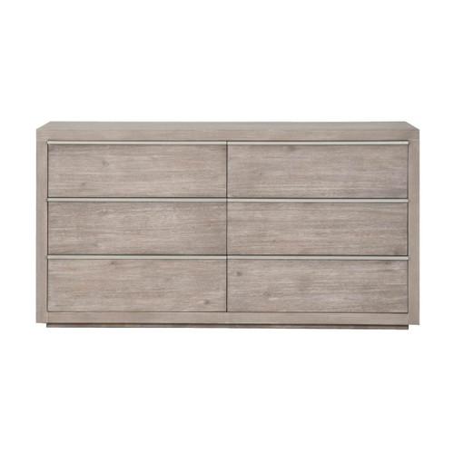 Grey Steel Dresser