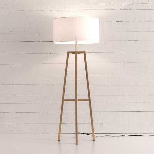 Brass Lui Floor Lamp