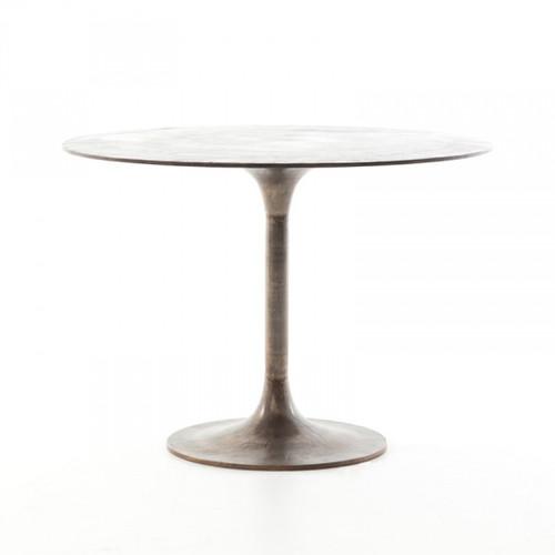 Simon Bistro Table - Antique Rust