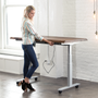 Put Wheels on Your Standing Desk