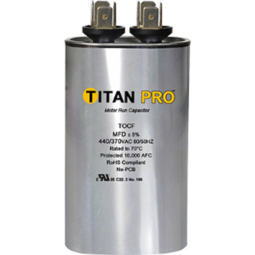 Packard TOCF10 10 MFD 440 Volts Run Capacitor