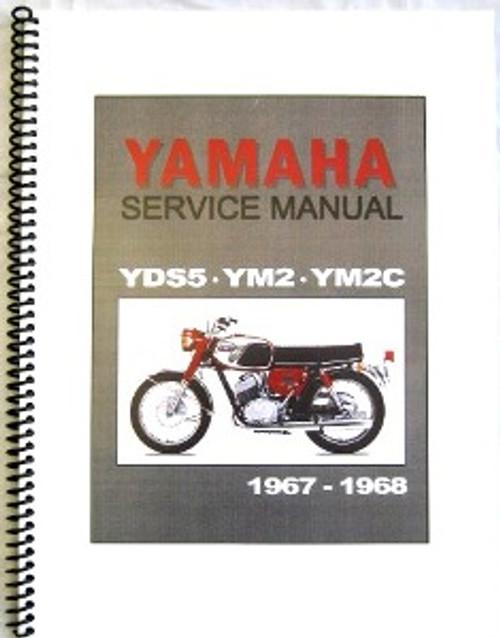 yamaha yds5 ym2 ym2c factory repair manual hvccycle rh hvccycle net Yamaha Raider Wiring-Diagram Yamaha Rhino 450 Wiring Diagram