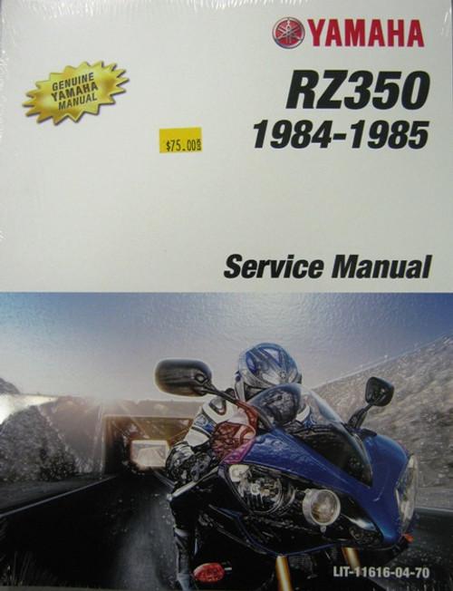 genuine yamaha service manual yamaha rz350 hvccycle rh hvccycle net 1985 yamaha rz350 service manual 1985 yamaha rz350 service manual