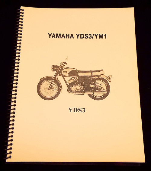 yamaha yds5 ym2 ym2c factory repair manual hvccycle rh hvccycle net 1967 Yamaha 100 Twin Vintage Yamaha Scooter