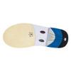 Brunswick Phantom Mens Bowling Shoes - White/Silver Carbon Fiber - Right Handed - slide sole