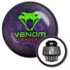 Motiv Venom Shock Pearl Bowling Ball with core design