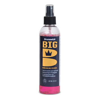 Brunswick Big B Bowling Ball Cleaner - 8 oz