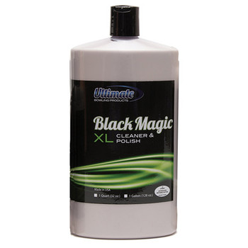 Ultimate  Black Magic XL Bowling Ball Cleaner and Polish - 32 oz