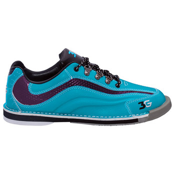 3G Sport Ultra Womens Bowling Shoes Teal/Purple Right Handed