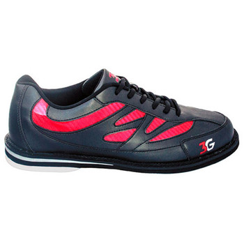 3G Cruze Unisex Bowling Shoes Black/Red