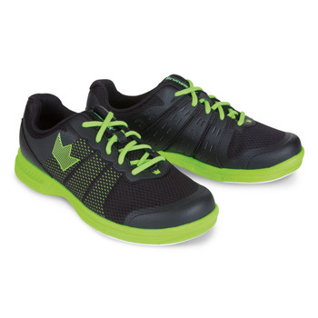 Brunswick Fuze Mens Bowling Shoes - Black/Neon