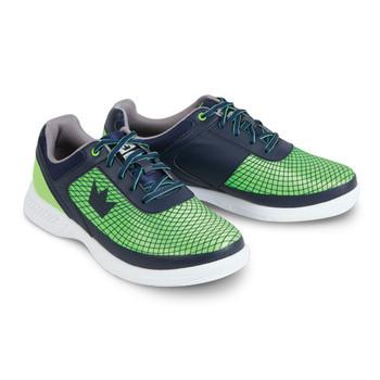 Brunswick Frenzy Mens Bowling Shoes Navy/Green