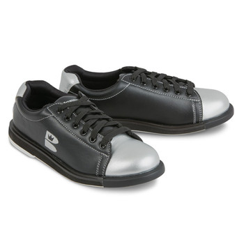 Brunswick TZone Unisex Bowling Shoes Black/Silver