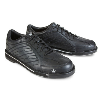 Brunswick Team Brunswick Mens Bowling Shoes Black Right Handed - WIDE