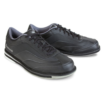 Brunswick Rampage Mens Bowling Shoes Black Right Handed WIDE