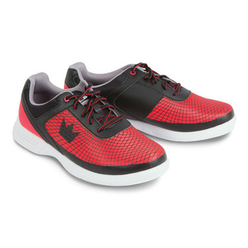 Brunswick Frenzy Mens Bowling Shoes Black/Red WIDE