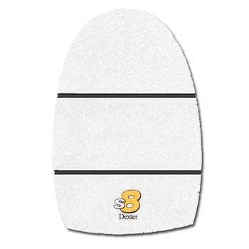 Dexter THE 9 Replacement Sole - White Microfiber (S8)