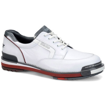 Dexter SST Retro Mens Bowling Shoes White/Grey/Red