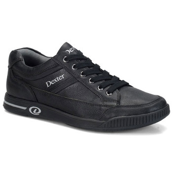 Dexter Keegan Plus Mens Bowling Shoes Black Left Handed
