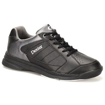 Dexter Ricky IV Mens Bowling Shoes - Black/Alloy Trim - WIDE