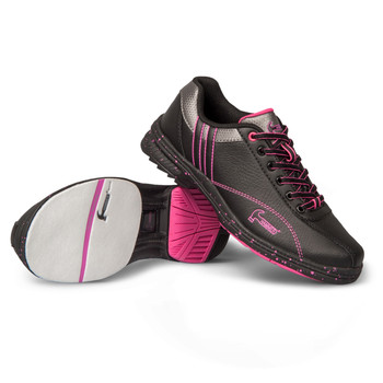 Hammer Vixen Womens Bowling Shoes Black/Magenta Right Hand