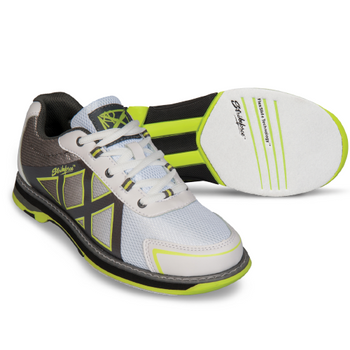 KR Strikeforce Kross Womens Bowling Shoes White/Grey/Yellow