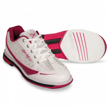 KR Strikeforce Curve Womens Bowling Shoes Scarlet/Paisley