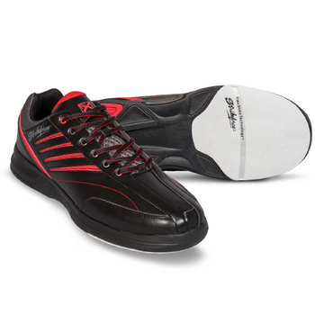 KR Strikeforce Crossfire Lite Mens Bowling Shoes Black/Red