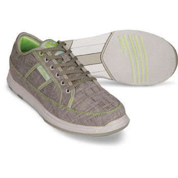 KR Strikeforce Ivy Womens Bowling Shoes Ash/Lime Green