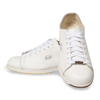 Linds Classic Womens Bowling Shoes White Leather Right Handed WIDE