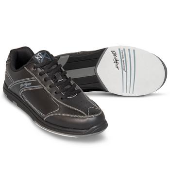 KR Strikeforce Flyer Mens Bowling Shoes Black WIDE