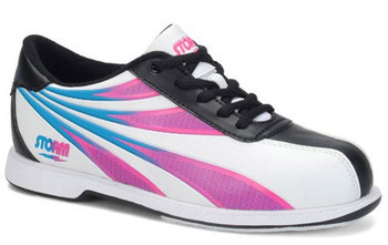 Storm Skye Womens Bowling Shoes White/Black/Multi Color