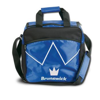 Brunswick Blitz Single Tote - Blue Bowling Bag