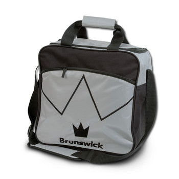 Brunswick Blitz Single Tote - Silver Bowling Bag