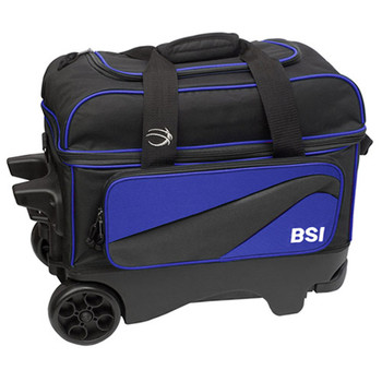 BSI Larger Wheel Double Roller Blue/Black